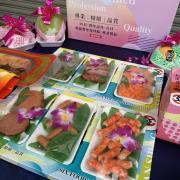 法事祭品-尾日飽福葷六飯菜全組含未煮八珍...