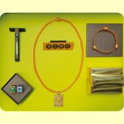 暢銷男士黃金鑽戒禮盒(6件組)