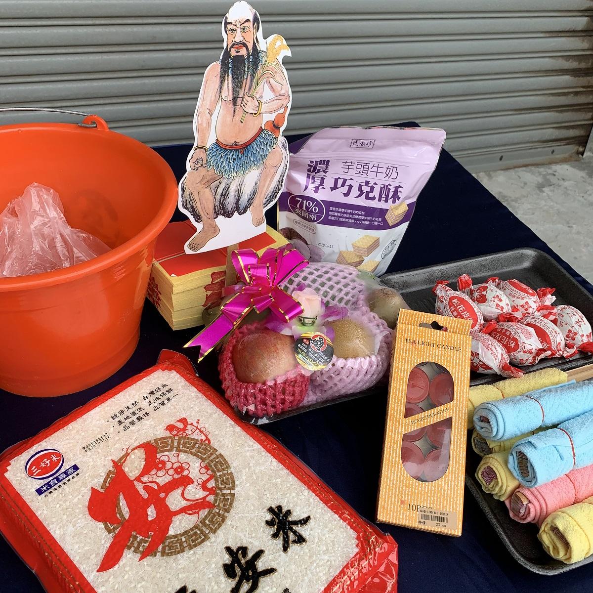 法事祭品-佛教尾日藥師王小功德用品組(在家師父用)