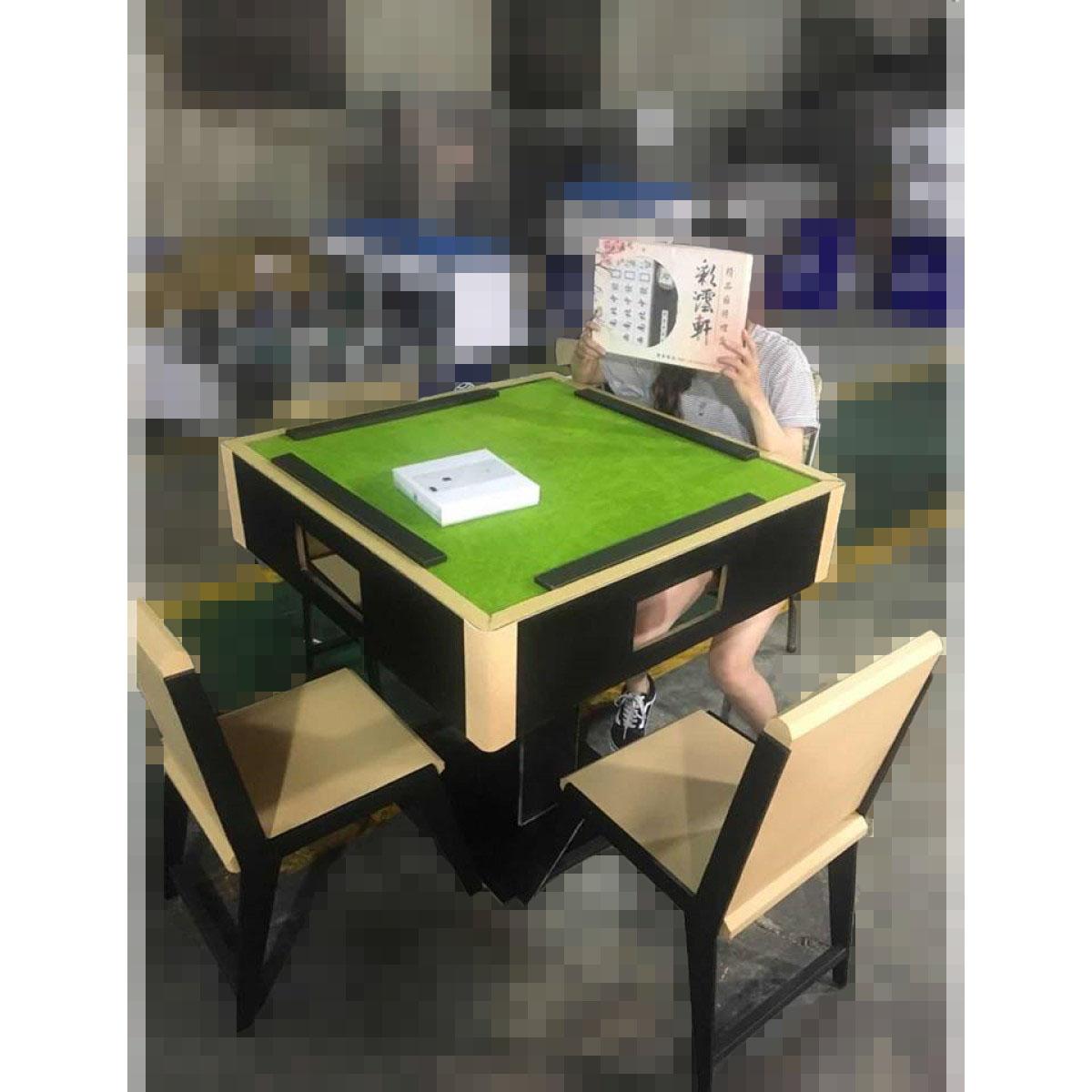 高級實物1:1麻將桌椅組