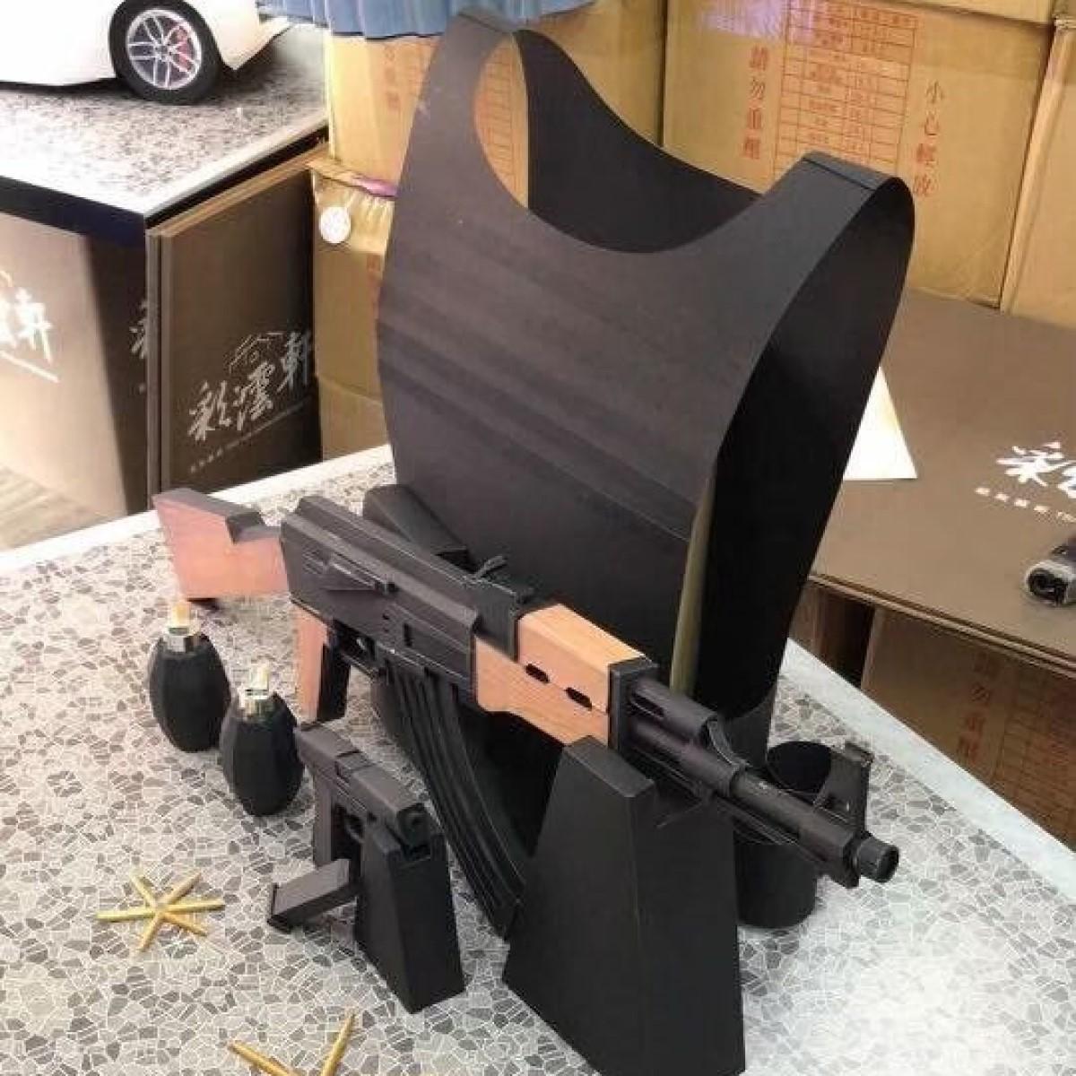 AK47步槍一把