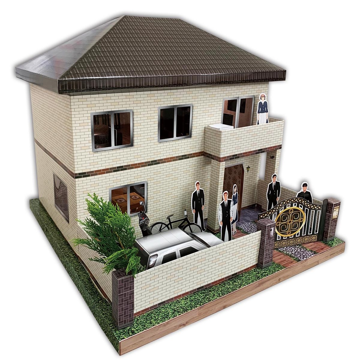 欣悅雅築咖啡色屋頂