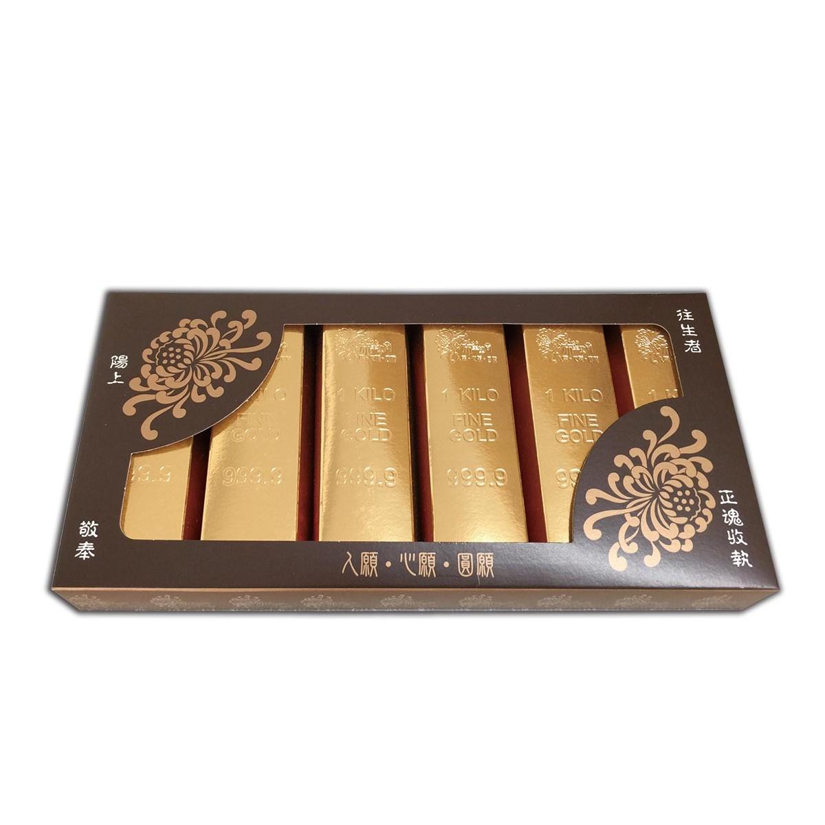 六入金條禮盒