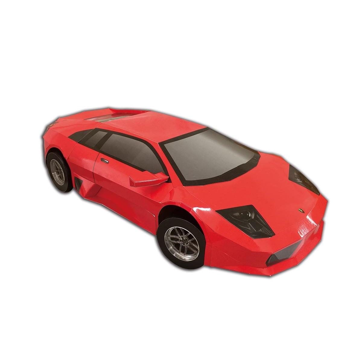 藍寶堅尼紅色跑車一台