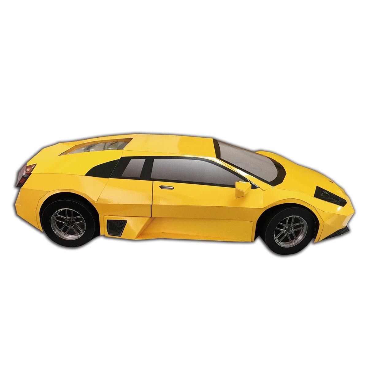 藍寶堅尼黃色跑車一台