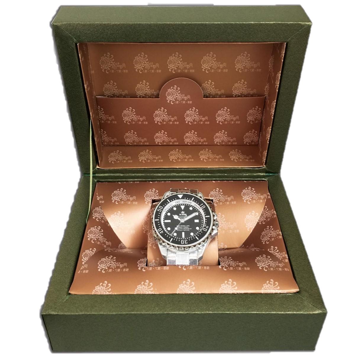 銀色勞力士手錶一支