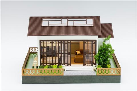 迷你日式小屋